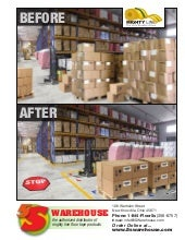 5s Warehouse Floor Marking and 5s Floor Signs Tape Catalog