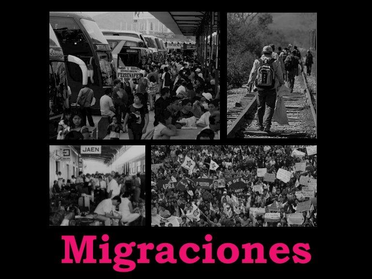 Migraciones Internas En El Peru