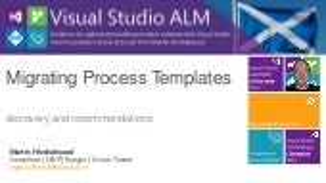Migrating process templates