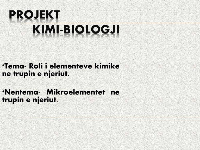 Mikroelementet ne trupin e njeriut