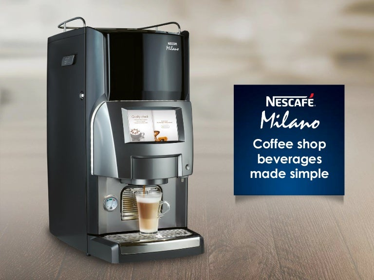 Nescafe Milano - Coffee - specialty beverage solution