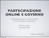 A framework for designing and assessing government-led e-participation