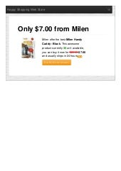 Milen offer the best handy caddy black only 700 reviews