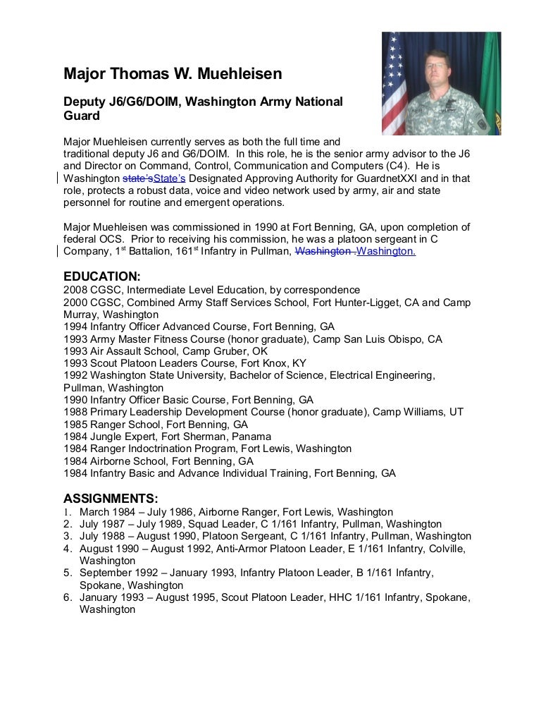 military biography