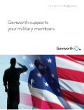 Genworth's Innovative Solutions for Military Members