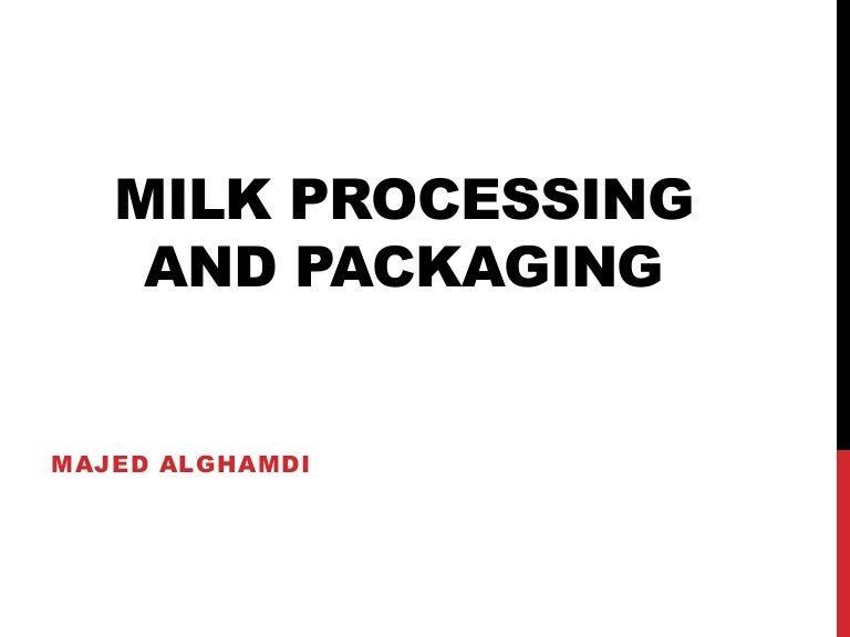Dairy microbiology. Methods of preservation of milk and milk products.