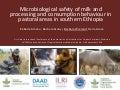 Microbiological safety of milk and processing and consumption behaviour in pastoral areas in southern Ethiopia