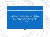 Million Dollar Round Table Membership Benefits