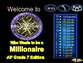 Ang Mga Kastila sa Pilipinas (Powerpoint Game - Who Wants To Be A Millionaire)