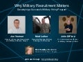 Why Military Recruitment Matters | Talent Connect 2013