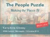 The People Puzzle: Making the Pieces Fit – MIMA Summit 2014