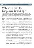 Where to next for employer branding-Finland