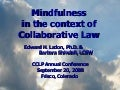 Mindfulness In The Context of Collaborative Law