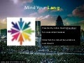 Mind Your Lang — London Web Standards