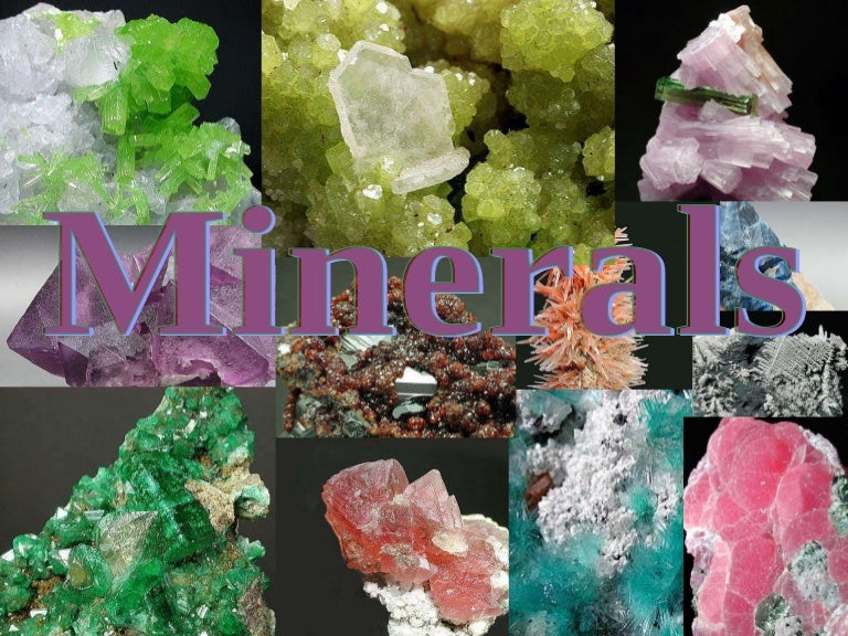 what are the uses of minerals