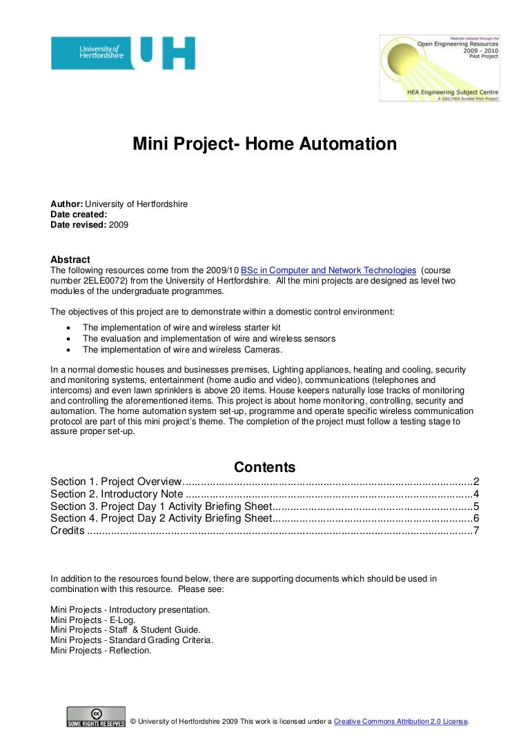 Mini Project Home Automation Electronics Engineering Projects Ides For Students With