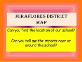 Miraflores district map term 4 g2