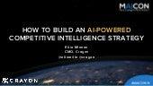 How to Build an AI-Powered Competitive Intelligence Strategy