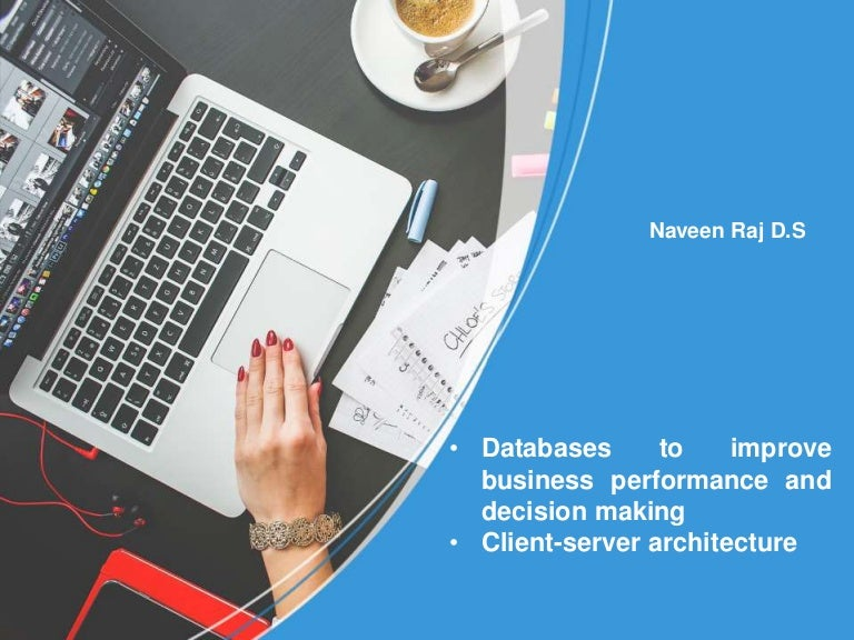 Databases to improve business performance and decision making client toneelgroepblik Gallery
