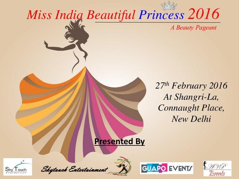 Miss india beautiful princess 2016