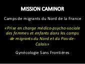 Mission caminor novembre 2015 à février 2017