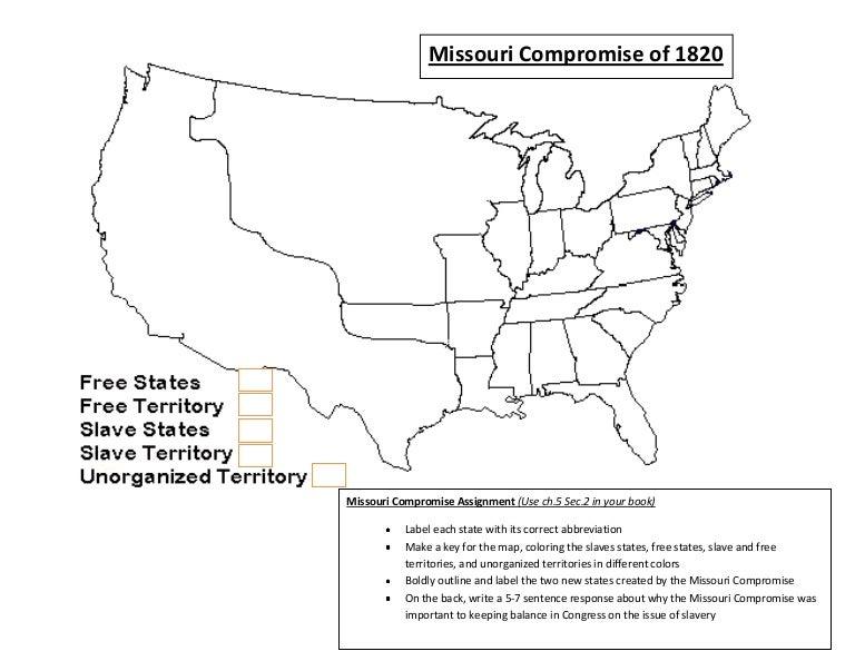 Missouri compromise activity ush