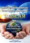 MissverstäNdnisse üBer Menschenrechte Im Islam  Deutsch