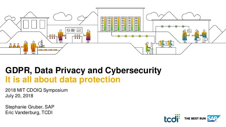 gdpr data privacy and cybersecurity mit symposium rh slideshare net