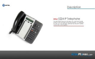 Mitel 5224 Product Overview