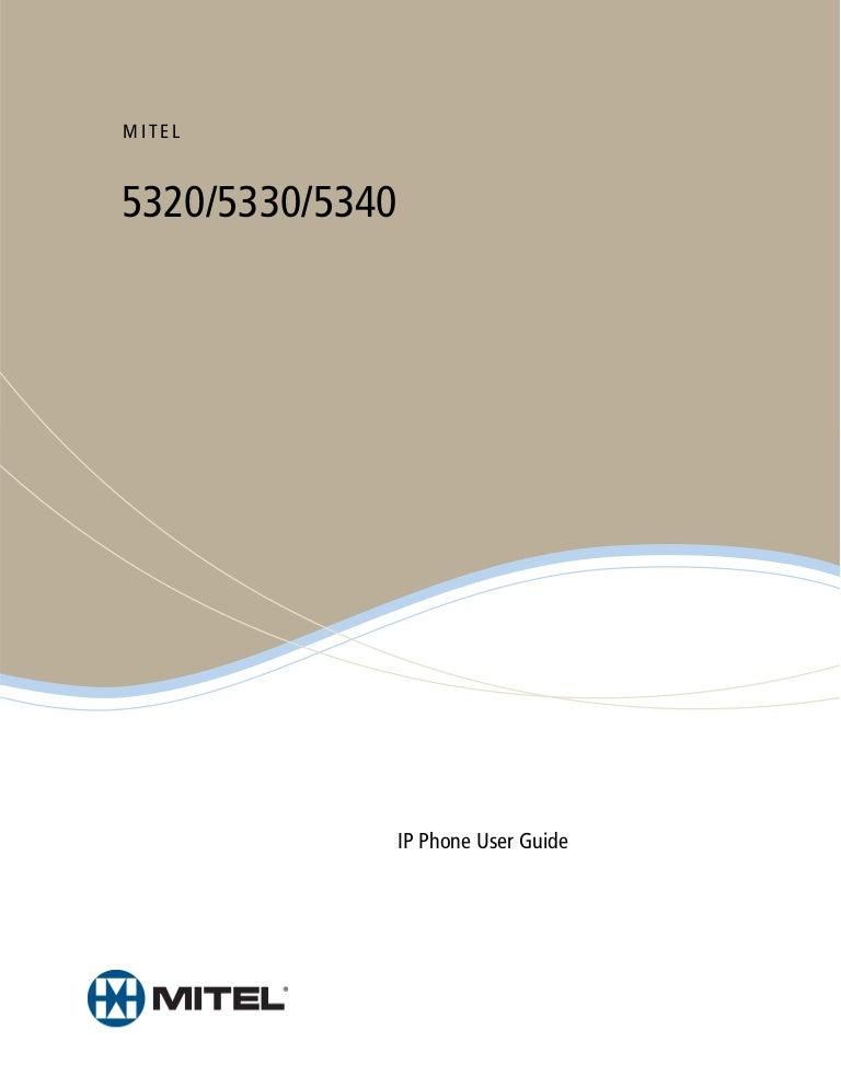 Mitel phoneguide