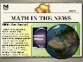 Math in the News: 9/26/11
