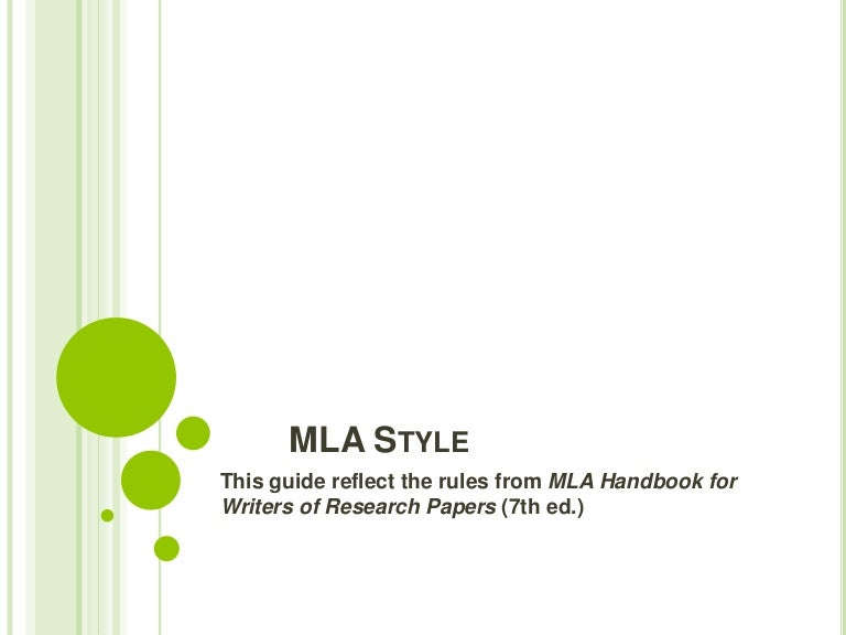 mla style cover pages