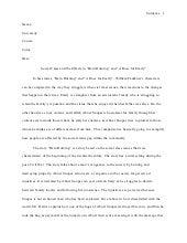 mla style essay william faulkner