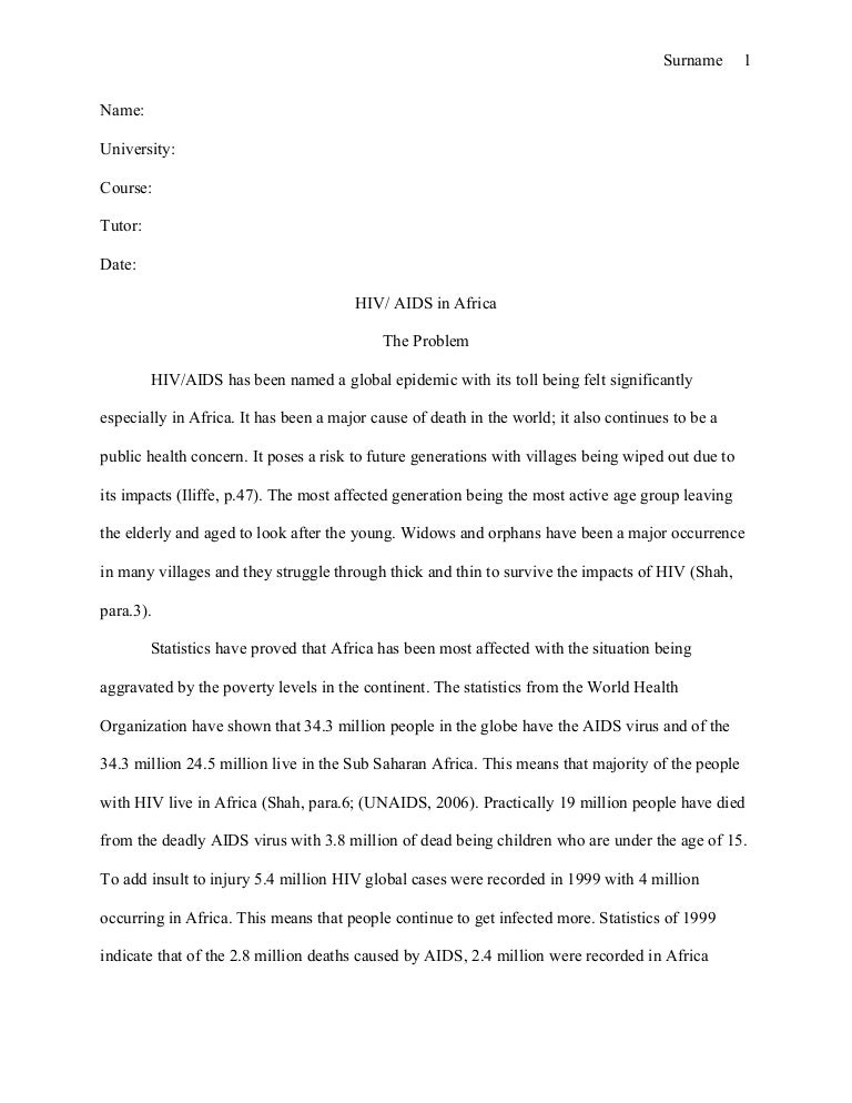 Recipe research paper