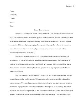 Harvard style research paper