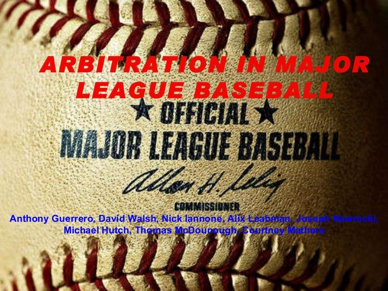 Image result for MLb Arbitration'
