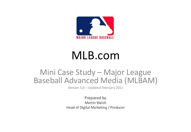 mlb advanced media case summar A look inside mlb's high tech media center, macworldcom (mar 31, 2011) (the pitch-by-pitch metadata allows the system to create an initial cut of a condensed game based on the time code of the action pitches of each at-bat.