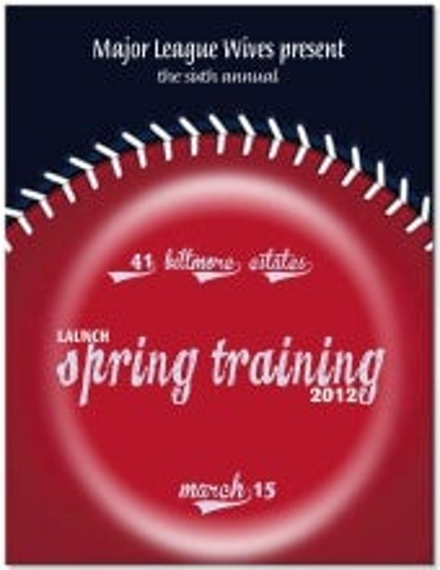 Launch Spring Training 2012 Sponsor Packet