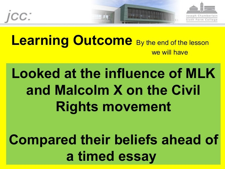 Mlk Vs Malcolm X  English Essays Book also Community Service Form  How To Write An Essay For High School Students