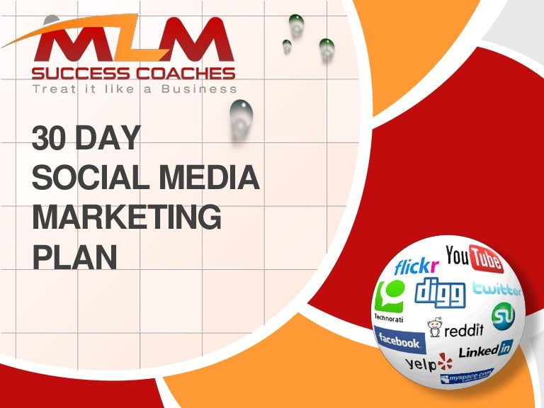 30 Day Social Media Marketing Plan