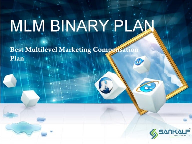 Mlm Binary Plan To Run Mlm Business