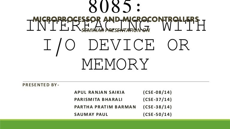 8085 interfacing with i o devices or memory diagram of uc block diagram of ic 6116 #4