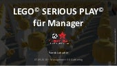 LEGO SERIOUS PLAY für Manager (Management 3.0 Gathering 2018)