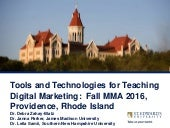 Using Industry Certifications to Teach Digital Marketing in 2016