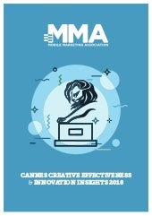 MMA Report Cannes Lions 2018