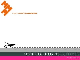 MMA Mobile Coupons Guidelines presentation