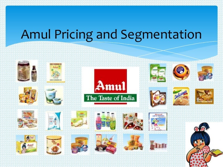 Product system and product mix of amul and hul.
