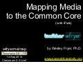 Mapping Media to the Common Core with iPads (Sep 2013)