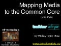 Mapping Media to the Common Core with iPads (Dec 2013)