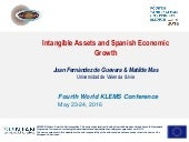 Intangible Assets and Spanish Economic Growth
